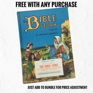 The Bible Story Volume One Vintage